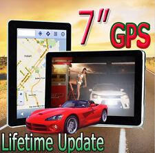 """7"""" 8GB PER AUTO CAMION AUTOCARRO Arenato GPS Sat Nav Navigazione TOM + GRATIS mappe del mondo + Aggiornamenti Vita"""