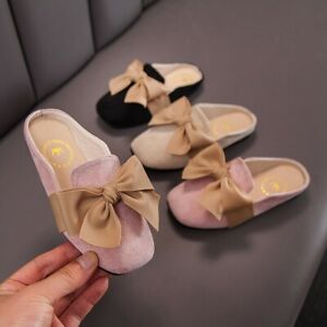 Children Infant Kids Baby Girls Fashion Bowknot Slipper Casual Shoes Sandals New
