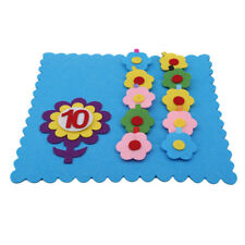 Intelligence Development Cloth Bed Cognize Book Educational Toy for Kid Baby WA