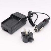 AC+DC Car+Wall Battery Charger For Nikon EN-EL12 ENEL12 CoolPix S610 S610c S6100