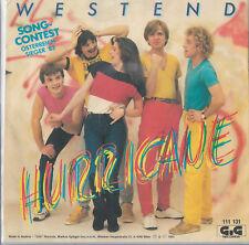 "Westend ""Hurricane/Instr. version"" Eurovision Austria 1983 Austrian pressing"