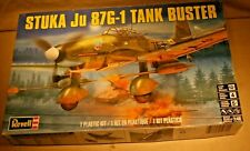 Revell JU87G-1Stuka Tank Buster Airplane-1:48 Scale-Complete