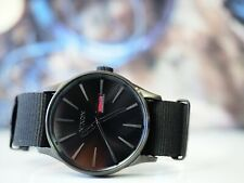 Nixon Sentry Watch in All Black New Without Tags