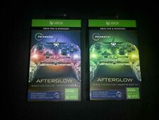 2 Sets of PDP Afterglow Prismatic Xbox One Wired Controller - Multicolor