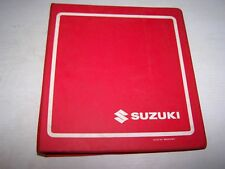 SUZUKI RF600R SERVICE MANUAL AND SUPPLEMENTARY MANUEL 99500-35031-03E