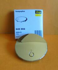 Viega 115mm Verchromt Kunststoff Abdeckhaube für Tempoplex Plus (649982)
