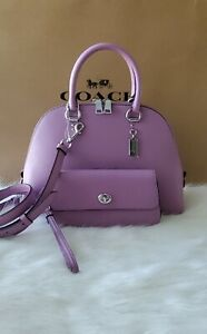 Coach Leather Katy Satchel Code 2553. Additional $75 For The Leather Original...