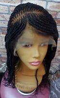 African Braided Cornrow Wig