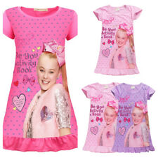 JOJO siwa Girls Dresses Tops Shirts Nightwear Nightdress Pyjamas Skirts UK