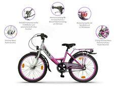 XB3 20 Zoll Fahrrad Kinderfahrrad Nabendynamo Licht 3 Gang Rücktrittbremse Pink