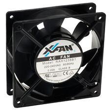 X-fan x-fan ventilateur de refroidissement axiaux 120 x 120 x 38mm roulement à billes 230v ac mains