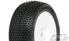 Proline Blockade X3 (Soft) on Rim White Burner 1:8 Offroad 2 Räder Tyres
