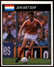 John Van't Schip Holland #144 Orbis World Cup Football 1990 Sticker (C234)