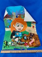 2003 Kim Possible Disney McDonald's Happy Meal Store Display Toys Set VTG Rare