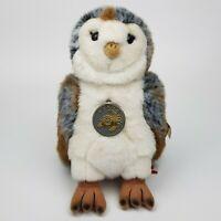 ~ Rare ~ Leosco ~ Owl ~ Soft Toy ~ Soft Plush ~ 24cm ~ Grey Brown White ~ BNWT ~