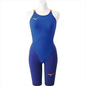 MIZUNO Swim Suit Women GX SONIC IV MR N2MG9202 27 M Blue NEW