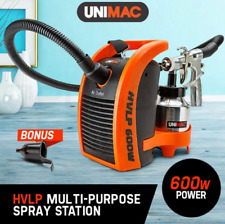 600W Paint Sprayer Gun Fluid Nozzle 1650 L/min Electric Spray Station Air Tool