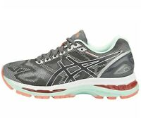 Asics Gel-Nimbus 19 Neutral Running shoe Grey/Coral [T750N-9701] Womens 5 D Wide