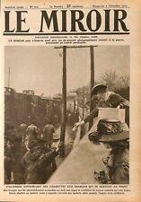 Cigarette d'Italie aux Poilus/ British Army à Vintimille  WWI 1917 ILLUSTRATION