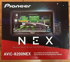 "PIONEER AVIC-8200NEX FLAGSHIP IN-DASH GPS AV RECEIVER 7"" WVGA DISPLAY CARPLAY"