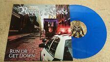 REGGAY LORDS Run Or Get Down LP blue vinyl The Slackers Brooklyn 60s ska reggae