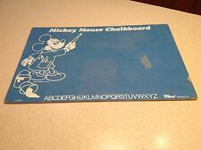 Vintage Mickey Mouse Chalkboard Blue Mb Raco Good Used Condtion Blue Disney