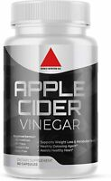 Weight Loss Pills Apple Cider Vinegar Fat Burner ACV Keto Diet Supplements 60ct