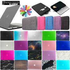 For MacBook Air/pro/Retina-Rubberized Case Cover+Keyboard Cover+Carry Sleeve Bag