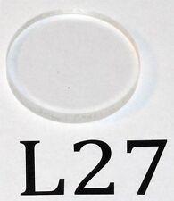 JML Spherical UV Plano-Convex Lens for 248 nm (L27)