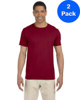 Gildan Mens 4.5 oz. SoftStyle T-Shirt 2 Pack G640 All Sizes