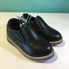 Toddler Boys Cat & Jack Neal Loafers Black Shoes Size 6 or 10 New with tags