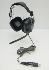Plantronics GameCom 388 DSP Surround Sound Stereo Controls USB PC Gaming Headset