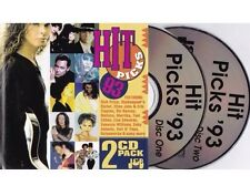 Hit Picks '93 Rare OOP 2xCD Faith No More, Baby Animals, Scorpions, Noiseworks