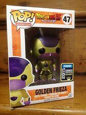 Funko Pop! DRAGONBALL Z GOLDEN FRIEZA # 47 SCE esclusivo VINILE FIGURA & Custodia Nuovo