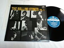 ROLLING STONES Vol.3 NOW JAPAN ORIGINAL LONDON MH 208 LONG PLAYING LOGO ON LABEL