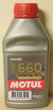 Motul RBF660 DOT4 Racing Brake Fluid 500mL For VW Skoda Nissan Toyota Mazda Audi