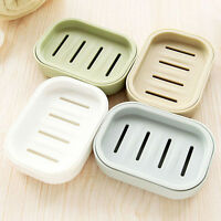 Soap Dispenser Dish Case Holder Container Box for Bathroom Travel Carry Case TO