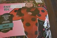 NEW INFANT BABY BUG 0-9 MONTHS MONTHS LADYBUG Halloween Costume