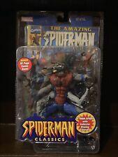 Marvel Legends Man-Spider Toybiz Rare Spider-Man Classics Monster Loose Complete