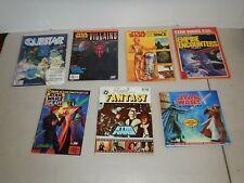 Lot Of 7 Vintage, Original Star Wars Magazines, Books And Storybooks, (Lot 2)