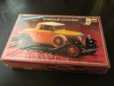 Lindberg 1:32 32 Plymouth Convertible Car Model Kit # 2143