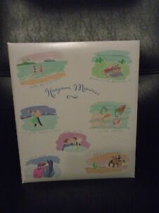 NOS HALLMARK HONEYMOON MEMORIES 3 RING BINDER PHOTO ALBUM