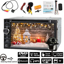 For Ford BMW Double 2 Din Car Auto Radio DVD Player Touch Screen + Rear Camera