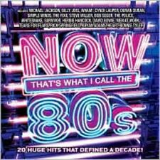 80'S: Now That's What I Call Music - Now That's What I Call Musi (2008, CD NEUF)