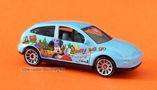 2010 Matchbox Loose Ford Focus Blue Mickey Mouse Brand New Combine Shipping