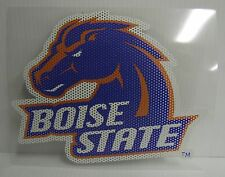 6-Inch Boise State Broncos Logo Perforated Vinyl Window Graphic