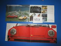 N°4547  / PORSCHE 924 , 911 , Carrera,Turbo catalogue texte français