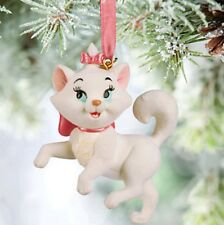 Disney The Aristocats Marie Christmas ornament NWT cat holiday pink white