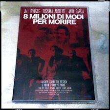 8 MILIONI DI MODI PER MORIRE Raro DVD NUOVO SIGILLATO FuoriCatalogo Jeff Bridges