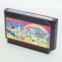 Famicom MAPPY LAND Cartridge Only Nintendo fc